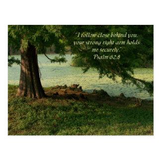 Psalm des Komforts Postkarten