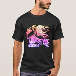 Pschedelic Gonzo, Drache-Taube T-Shirt