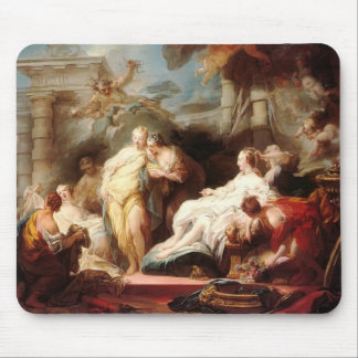 Psyché de Jean Fragonard- montrant son cadeau aux  Tapis De Souris