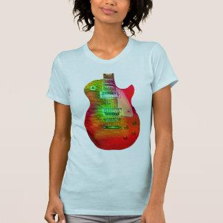 Psychedelische Gitarre T-Shirt