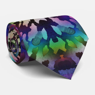 Psychedelische Krawatten-wilde Stammes- abstrakte Personalisierte Krawatten