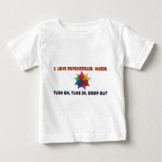 psychedelische Musik Baby T-shirt
