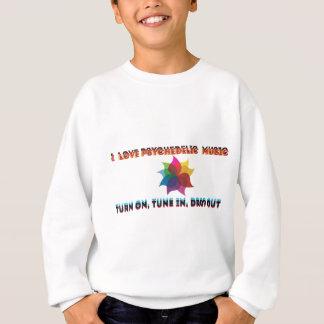 psychedelische Musik Sweatshirt