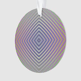 Psychedelische Pyramide-Verzierung Ornament