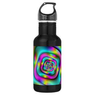 Psychedelische Tunnel-Flasche Trinkflasche