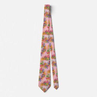 Psychedelische Ziege Bedruckte Krawatten