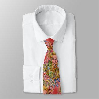 Psychedelischer Bart Typ Krawatte