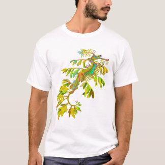 Psychedelischer Fantasie-Seedrache-Seepferd-T - T-Shirt