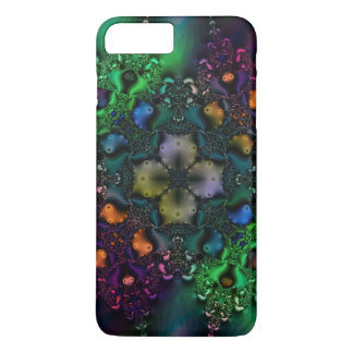 Psychedelischer Grunge-Fraktal-Muster iPhone 7 iPhone 7 Plus Hülle