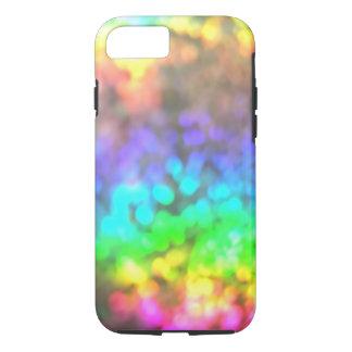 Psychedelischer Regenbogen beleuchtet iPhone 7 iPhone 8/7 Hülle