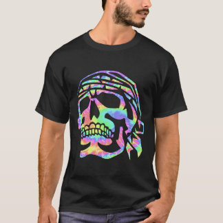 Psychedelischer Schädel psychischer Schädel T-Shirt