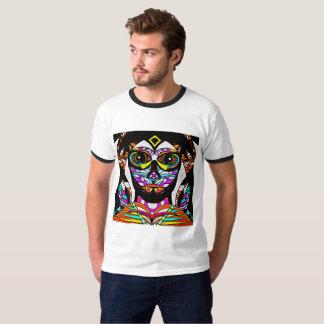 Psychedelisches Gesicht T-Shirt