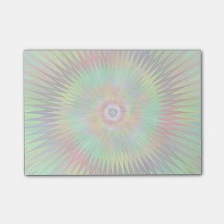 Psychedelisches Sternexplosion-Fraktal Post-it Klebezettel