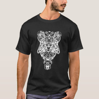 Psychedelisches Totem T-Shirt