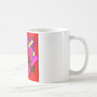 Psychen-T - Shirt- und -kleiderentwurf Kaffeetasse