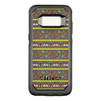Psychisches Ostern-Muster bunt OtterBox Commuter Samsung Galaxy S8 Hülle