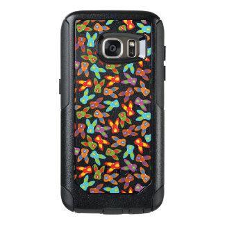 Psychisches Ostern-Muster bunt OtterBox Samsung Galaxy S7 Hülle