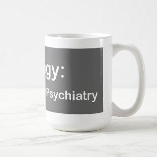 Psychologie: Die Bio Psychiatriekaffee-Tasse Tasse