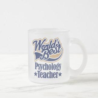 Psychologie-Lehrer-Geschenk für Matte Glastasse