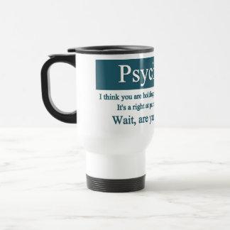 Psychologie-Tasse Edelstahl Thermotasse