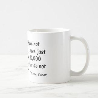 """Psychologie-Zitat, """", das ich habe nicht versagt… Kaffeetasse"""
