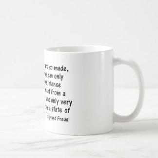 "Psychologie zitiert ""uns sind also gemacht… "" kaffeetasse"