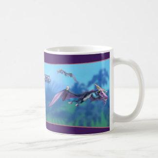 Pterodactyl-Dinosaurier Kaffeetasse