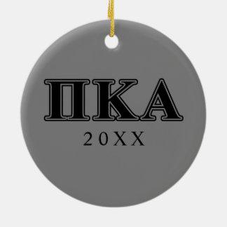 PU-Kappa-Alpha-gotische Schriften Keramik Ornament