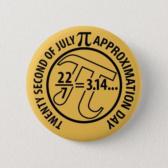 PU-Näherungswert-Tag Runder Button 5,1 Cm