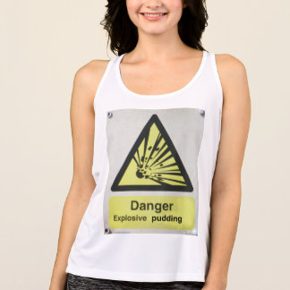 Pudding-Trägershirt Tank Top