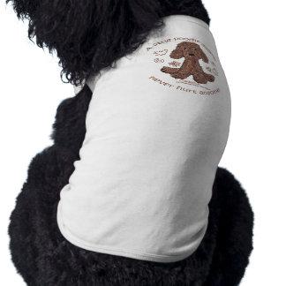 Pudel-Gekritzel T-Shirt
