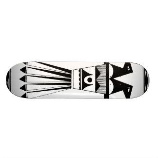 Pueblo zwei ging Vogel-Skateboard voran Skateboard