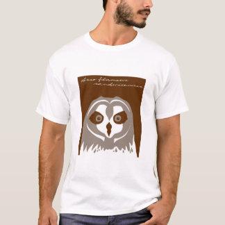 Pueo oder hawaiische kurze ohrige Eule T-Shirt