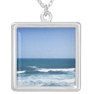 Puerto Rico, altes San Juan, Meerblick Halskette Mit Quadratischem Anhänger