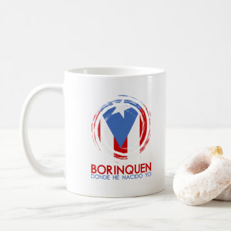 Puerto Rico Borinquen Kaffeetasse