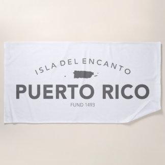 Puerto Rico Isla Del Encanto Strandtuch
