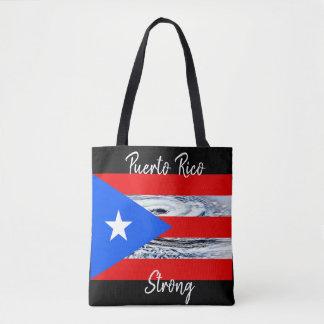 Puerto- Ricoflaggen-Hurrikan-Taschen-Tasche Tasche