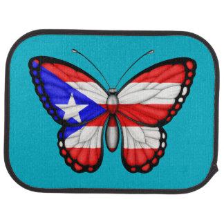Puerto- Ricoschmetterlings-Flagge Automatte