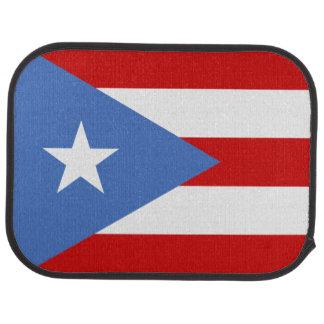 Puertorikanische Flagge: Bandera De Puerto Rico Autofußmatte
