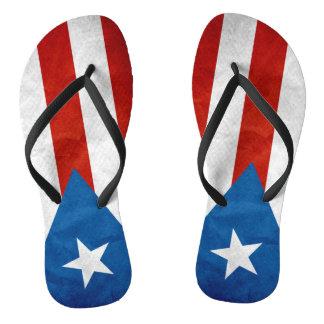 Puertorikanischer Stolz Flip Flops
