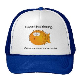 Pufferfische - lustige Sprüche Kult Kappen