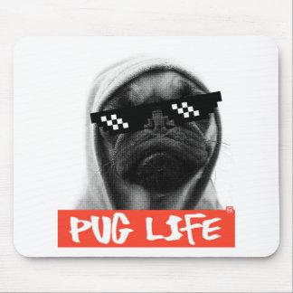 Pug Life Mauspads