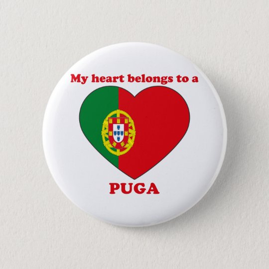 Puga Runder Button 5,1 Cm