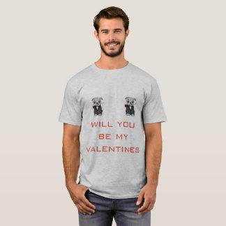 Pugenne Valentines-Shirt T-Shirt