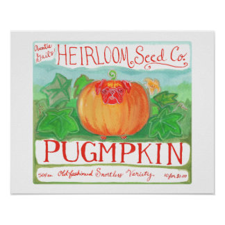 Pugmpkin Plakat