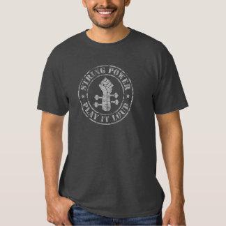 Puissance de ficelle t-shirt