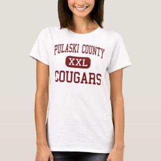 Pulaski County - Pumas - hoch - Dublin Virginia T-Shirt