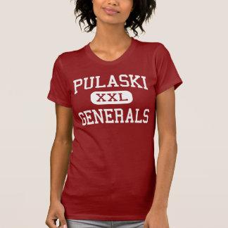 Pulaski - Generäle - Mitte - Neu-Britannien T-Shirt