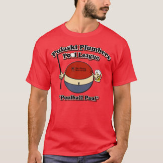 Pulaski Pool-Liga-Logo T-Shirt