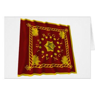 Pulaskis Legions-Flagge Karte